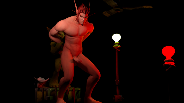 Gay ass blood elf by perverteddemoniac